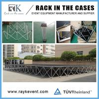 Buy cheap Made in china roof truss with portable stage portable stage with step platform from wholesalers