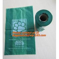 Buy cheap trash bin liner,refuse sack, garden compost bag,bin liner, 100% biodegrable bag for food from wholesalers