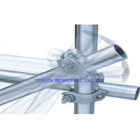 Buy cheap Galvanised ERW Steel Scaffold Tube GI Scaffolding Pipe SY/T5768-95 GB/T3091-2001 from wholesalers