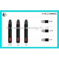 Buy cheap Black Silver Ego-v e Cigarette Variable Voltage 1300mah Battery from wholesalers