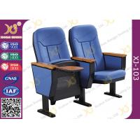 Buy cheap Guest Church Hall Chairs With Arm U Legged / Fabric Covered Chair product