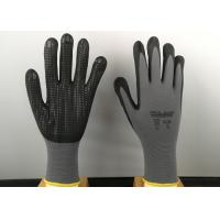 Buy cheap 6' Size Nitrile Coated Gloves Super Soft Cotton Blended Liner Fashion Design from wholesalers