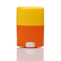 Quality 30g Cosmetic Solid Stick Deodorant Container Hot Stamping for sale