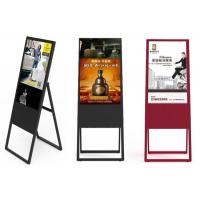 Buy cheap Hot promotion restaurant white or black 43/49/55 inch portable advertising product