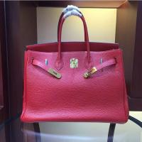 Buy cheap women high quality 35cm red famous brand handbags TOGO leather bags hanbags fashion bags L-RB2-5 from wholesalers