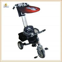 Buy cheap Black Baby Smart Trike 3 In 1 Three Point Wide EVA Soft Tyres from wholesalers
