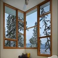 Buy cheap White/Grey/Grown/Black/Wooden Color Fixed Aluminum Window product