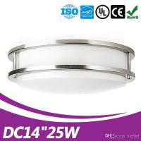 Buy cheap Modern 14inch 25W LED Flush Mounted Ceiling Down Light Wall Kitchen Bathroom Ceiling Lamp from wholesalers
