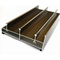 Buy cheap Acid Resistant Extruded Aluminum Electronics Enclosure Track For Sliding Door from wholesalers