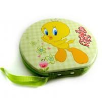 Buy cheap cute unique round DVD CD tin box from wholesalers