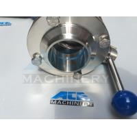 Buy cheap Stainless Steel Manual Welded/Threaded Butterfly Valve (ACE-DF-5F) from wholesalers