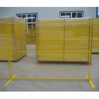 Buy cheap Multi Color Temporary Metal Security Fencing Panels Protect Private Assets product