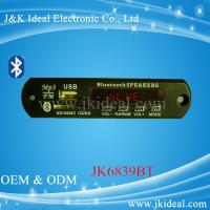 China JK6839BT  Gor amplifier speaker Audio usb sd fm radio bluetooth mp3 module on sale