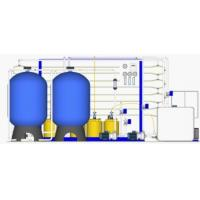 Buy cheap High Pressure Industrial Water Treatment Equipments With 50 Micron Bag Filter from wholesalers