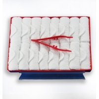 Buy cheap 100% Cotton Hot Disposable Cold Facial Airline Towel from wholesalers