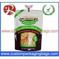 Buy cheap Colored Waterproof Plastic Ziplock Bags , Zip Lock Stand Up Pouches For Cookies Packaging from wholesalers