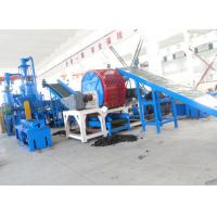 Buy cheap Waste Tire Shredding Machine / Crumb Rubber Machinery Harden Gears Gearbox from wholesalers