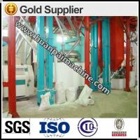 Buy cheap wheat flour processing mahcine,maize flour mill, corn grits milling machinery from wholesalers