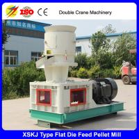Buy cheap Flat die cattle chicken feed pellet mill, animal feed pellet making machine from wholesalers