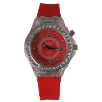 Buy cheap Fashion Analog And Digital Watch For Kids , Semitransparent Plastic Case from wholesalers