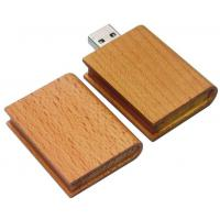Buy cheap wooden book usb flash drive,book usb drive,high speed usb disk,wooden usb stick from wholesalers
