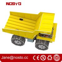 Buy cheap DIY Cement Tank Vehicle   Innovative 3D Puzzle For Boys' Early Educational Learning Toy product