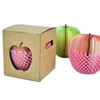 Buy cheap Recycled red / pink apple Shaped Sticky Notes for girl student from wholesalers