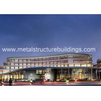 Buy cheap Fabricated Structure Multi-Storey Prefab Steel Frame Building / Houses Energy Efficient from wholesalers