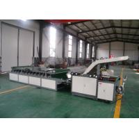 Buy cheap Semi Automatic Paper Flute Laminating Machine For Corrugted Board from wholesalers