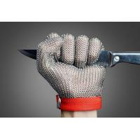 Buy cheap SS304 Stainless Steel Mesh Gloves , Stainless Steel Ring Mesh For Kitchen from wholesalers