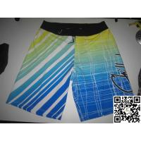 Buy cheap Custom Sublimation Mens Womens Surf Board Shorts from wholesalers