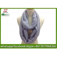 Buy cheap China factory direct supply thin neckerchief Gilding spring summer scarf  70*180cm 20%Cotton 80%Polyester keep clean from wholesalers