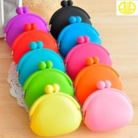 Buy cheap Mini Pouch Rubber Silicone Coin Purse , Animals silicone coin wallet from wholesalers