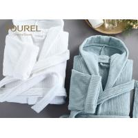 Buy cheap Personal Fashionable Hotel Quality Bathrobes Ladies Waffle Short Cotton Robe from wholesalers
