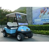 Buy cheap Blue Color Flexible 2 Seater Golf Cart Car With Curtis 275A Controller from wholesalers