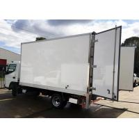Buy cheap Plywood Core Dry Freight Truck Bodies / Dry Van Box High Strength from wholesalers