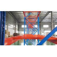 Buy cheap Beverage Or Garment Heavy Duty Selective Pallet Racking System 2800lbs Capacity from wholesalers