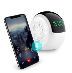 China 10 Watt Music Creative Bluetooth Speaker Home Woofer Wireless Super Bass Stereo Alarm Clock on sale