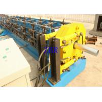 Buy cheap Water Falling Tube Roll Forming Machine Auto Steel Gutter Making Machine product
