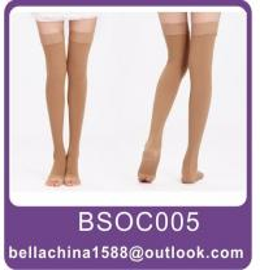China Anti varicose thigh high stockings,anti-embolism stockings on sale