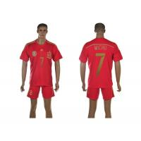 Buy cheap New arrival 2014 World Cup Spain jersey football jersey hotest high quality soccer jerseys from wholesalers