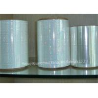 Buy cheap High Moisture Proof BOPP Holographic Film , Silicone Coated Polyester Film product