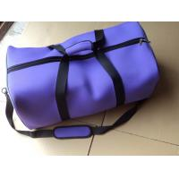 Buy cheap Purple Foldable Neoprene Travel Luggage Bags , Duffle Bags For Women from wholesalers