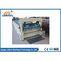 Buy cheap PLC Control Full Automatic Roof Panel Rolling Forming Machine for IBR Sheet Durable and Long Service Time from wholesalers