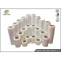 Buy cheap Full Color Stretch Film Jumbo Roll , Industrial Packing Materials For Pallet Wrap from wholesalers
