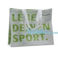 Buy cheap Low price recyclable plastic pp woven shopping bag manufacturers,Factory low price promotional PP laminated woven shoppi from wholesalers