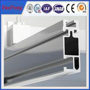 Buy cheap Anodized aluminum extrusion profiles for solar system, solar mounting aluminium rails product