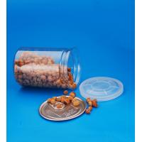 Buy cheap Cylinder Clear Plastic Storage Containers With Lids Small Capacity 28G from wholesalers