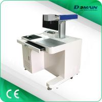 Buy cheap JCZ Software Desktop Laser Marker , 30w Fiber Laser Marking Machine For Metal from wholesalers