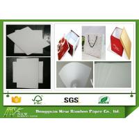 Buy cheap 1260gsm / 2.0mm thicker Unbleached laminated Whiteboard Paper Sheets from wholesalers